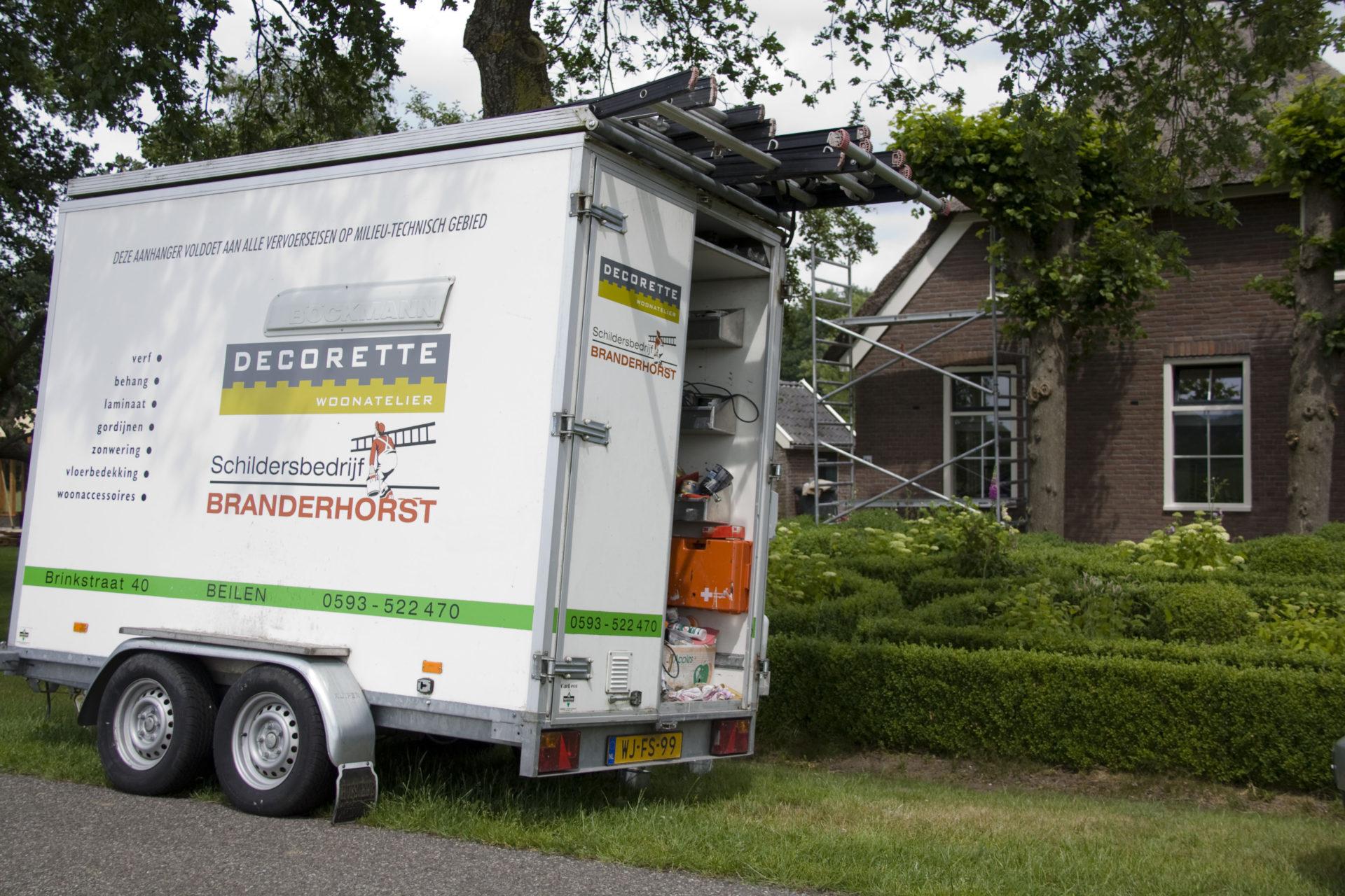 Schildersbedrijf Branderhorst buitenwerk